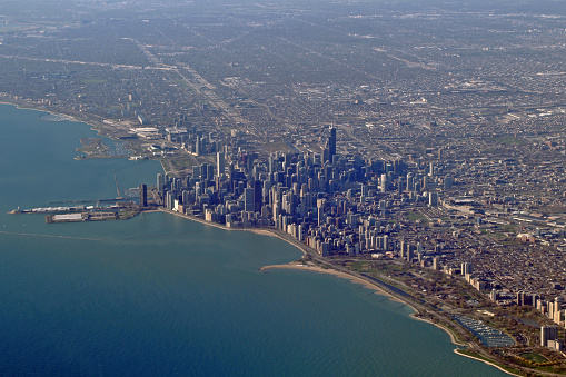 Aerial photography - City of Chicago