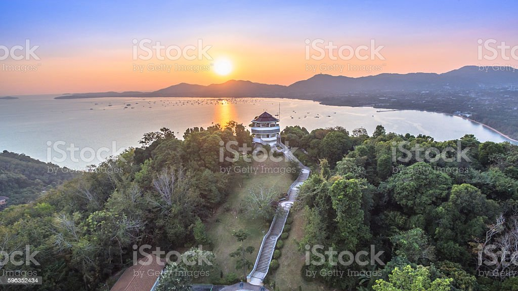 aerial photography on khao khad royalty-free stock photo
