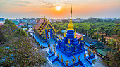 istock aerial photography wat Rong Suea Ten blue remple 935874304