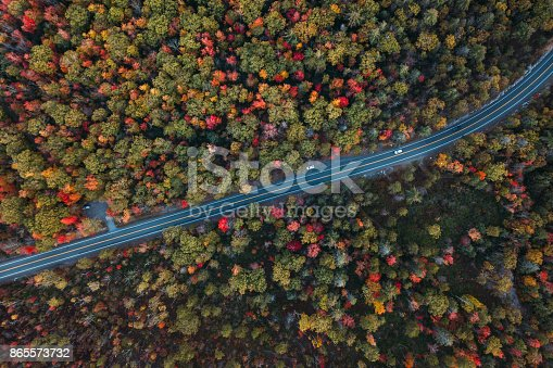 istock Aerial Road Trip in Minnewaska State Park Preserve 865573732