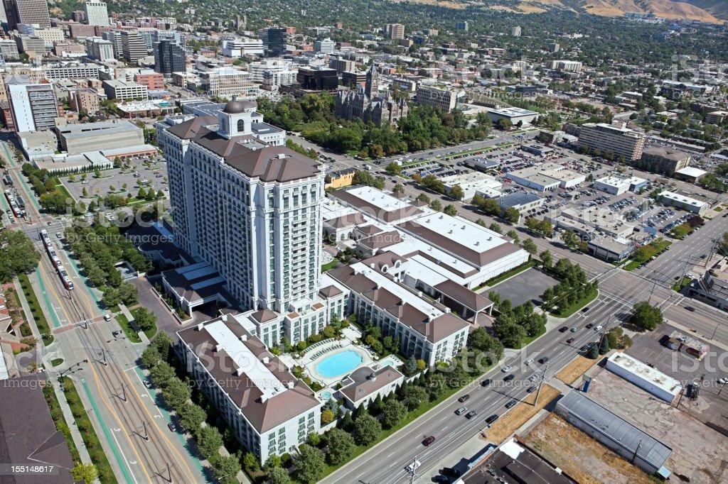 Fotografía de Vista Aérea De La Ciudad De Salt Lake City Utah De ...