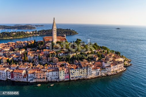 istock Aerial shoot of Rovinj, Croatia 471533455