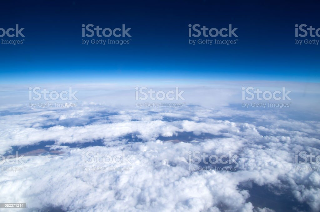 Aerial sky foto stock royalty-free