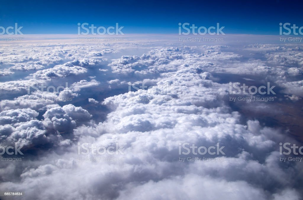Aerial sky royalty-free stock photo
