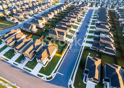 istock Aerial Suburbs Austin Round Rock Texas Community 618617928