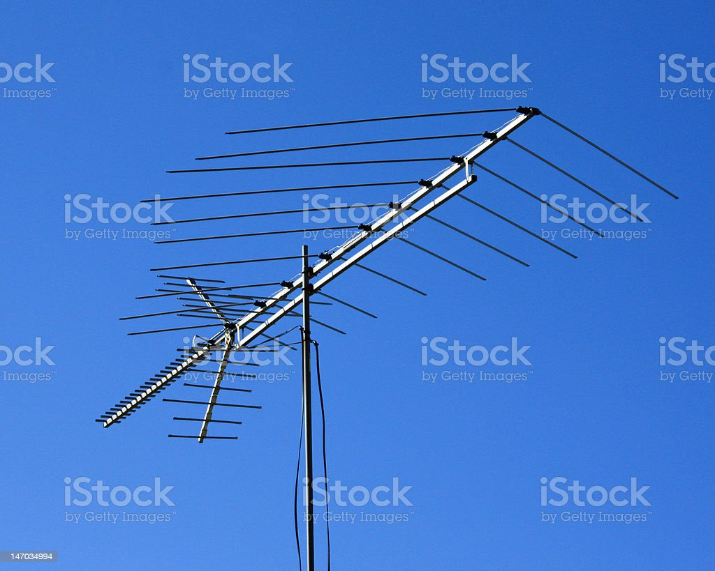 Aerial Television Antenna royalty-free stock photo