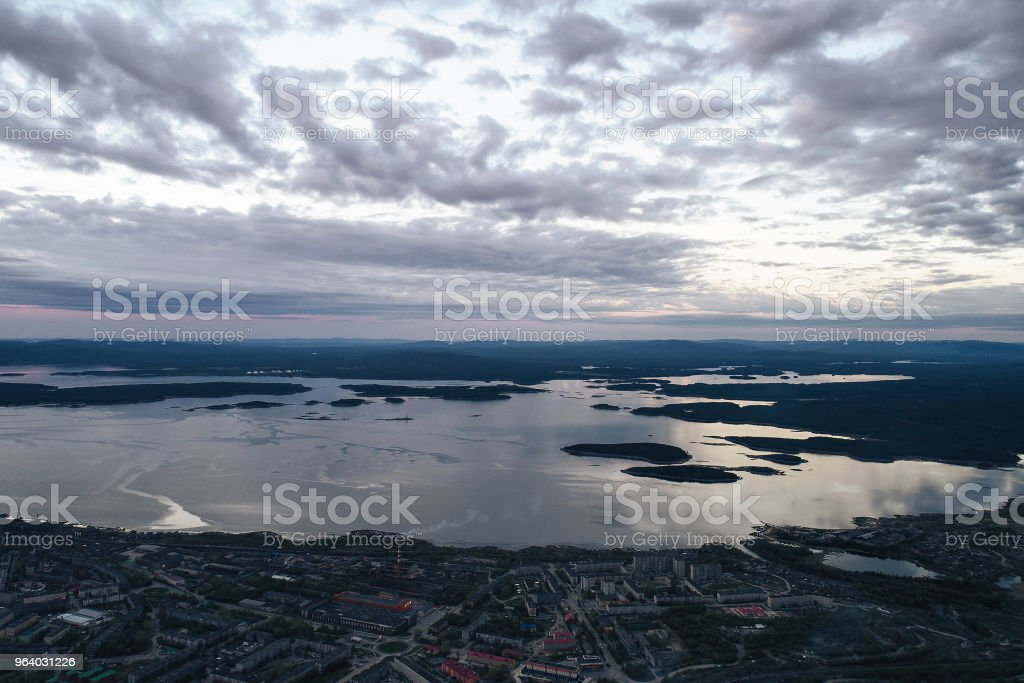 Aerial Townscape - Royalty-free Aerial View Stock Photo