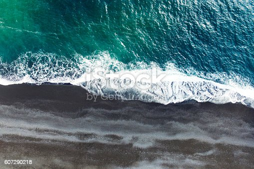 istock Aerial tracking shot 607290218