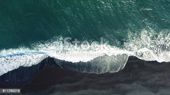 istock Aerial tracking shot 611290016