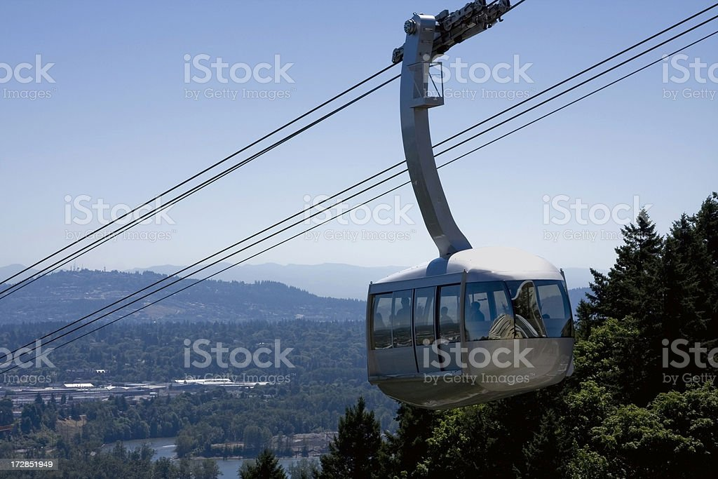 Aerial Tram royalty-free stock photo