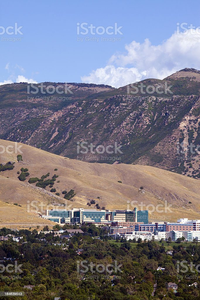 Aerial University Hospital School Of Medicine Utah Stock