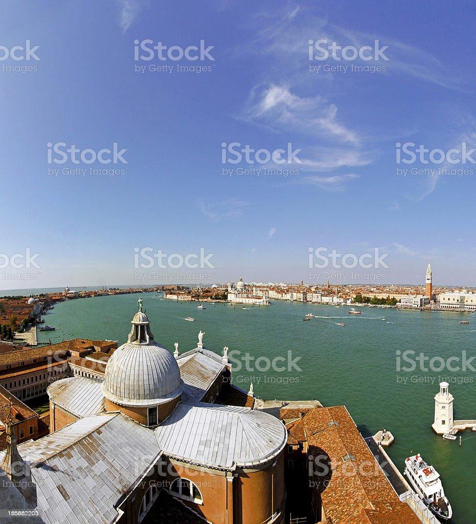 Aerial Venice royalty-free stock photo