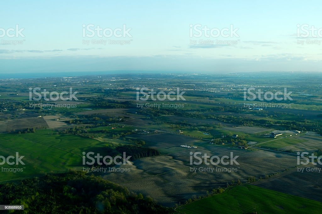 Aerial View 2 royalty-free stock photo