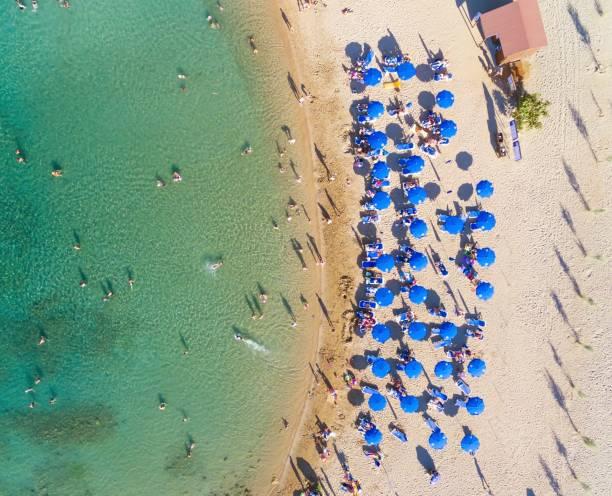 Luftbild Beach, Protaras, Zypern – Foto