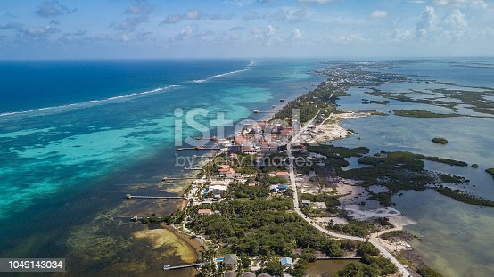 Aerial View Belize