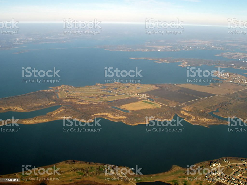 Aerial view  - Dallas royalty-free stock photo