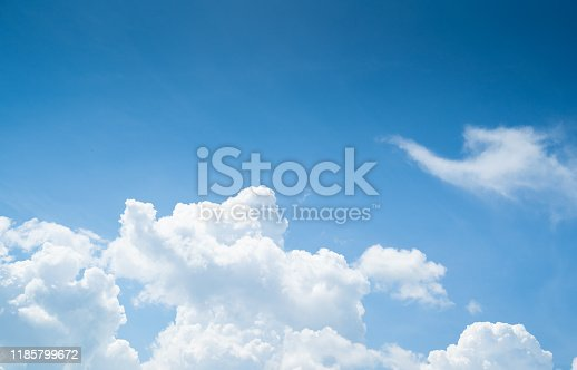 Aerial view dramatic sunset and sunrise sky nature background with white clouds for design concept and isolated text material