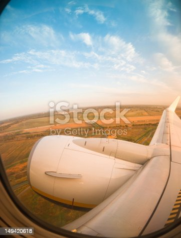 aerial view  from a porthole by a commercial passenger airplane. The image is processed from 16 bit RAW files in sRGB colorspace as possible to maintain the color fidelity.