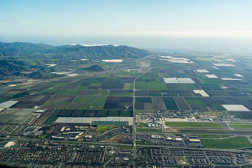 istock Aerial View high above Camarillo, Oxnard area of California 1206376302