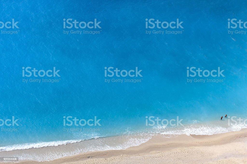 Luftaufnahme von Strand – Foto
