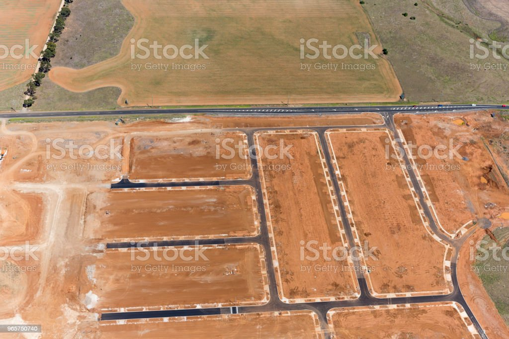 Aerial View Of A Industrial Park - Royalty-free Above Stock Photo
