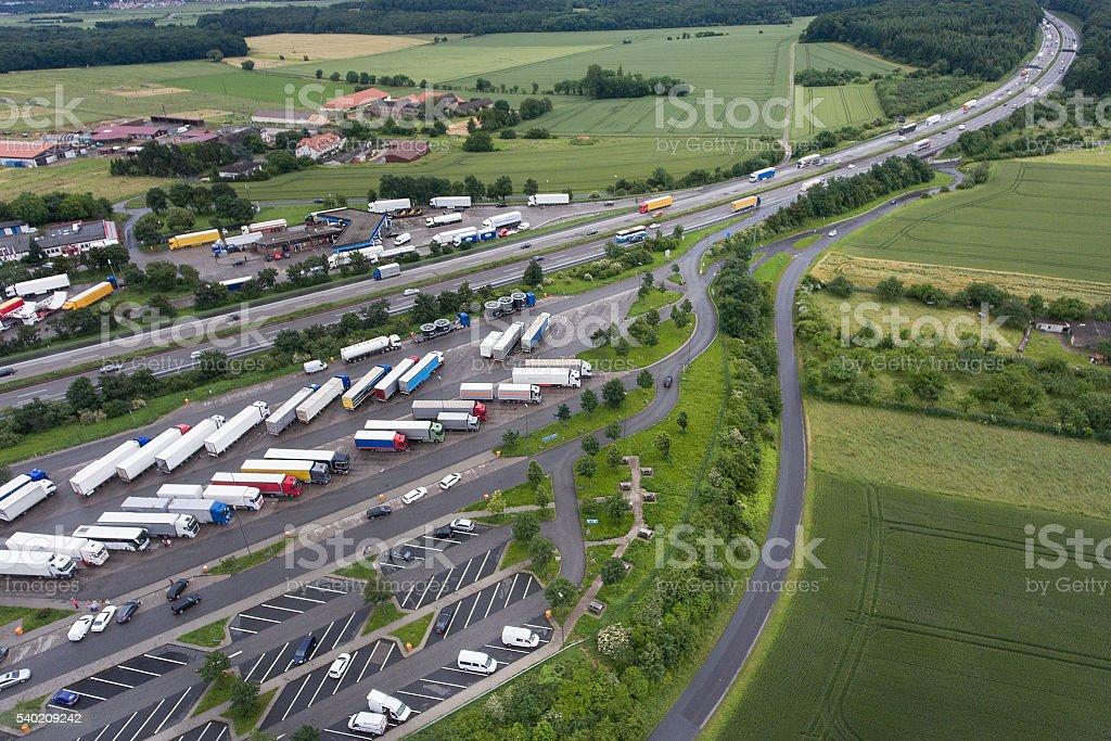 Autobahnraststätte