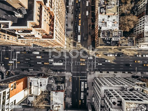 507831914 istock photo Aerial view of a street in Chelsea 1049255694
