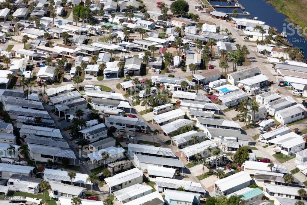 aerial-view-of-a-trailer-park-south-florida-picture-id946840028 Mobile Home Park Aerial View Florida on mobile home parks in havelock nc, office park aerial, airport aerial, mobile home 55 plus communities,