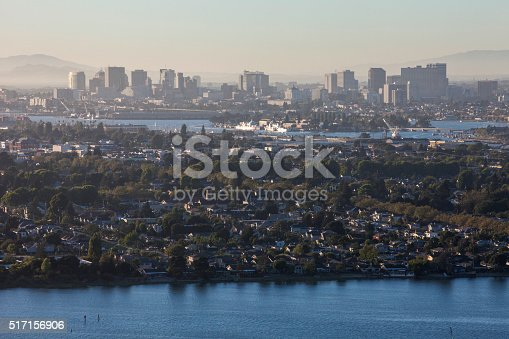 istock Aerial view of Alameda and Oakland CA 517156906