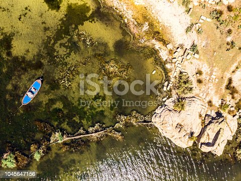 istock Aerial View of Amazing Natural Shapes and Textures 1045647156