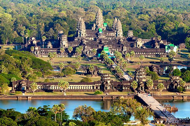 Luftbild von Angkor Wat – Foto