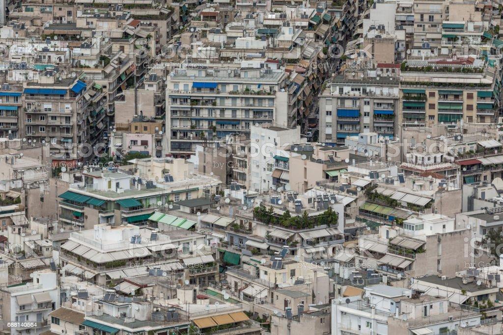 Athens Greece September 21 2016 Aerial View Of Athens Greece