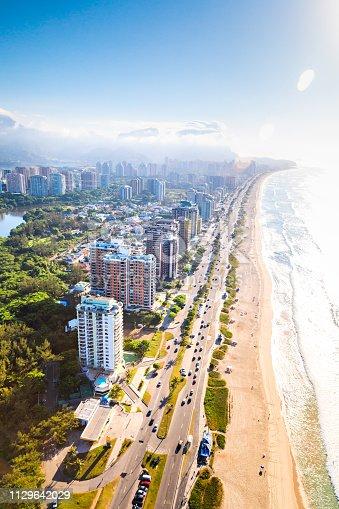 istock Aerial view of Barra da Tijuca 1129642029