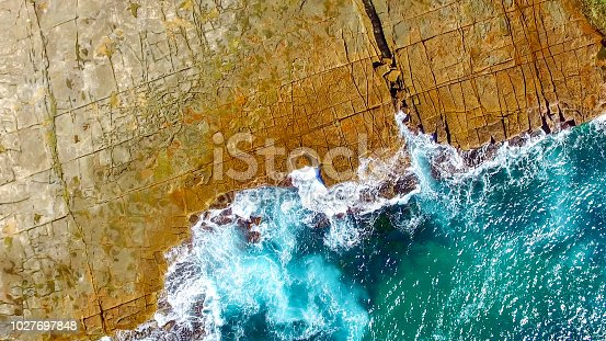istock Aerial view of beaches and coastline 1027697848