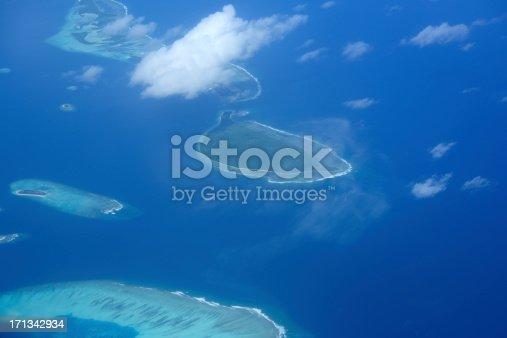 istock Aerial View of  Beautiful Virgin Islands 171342934