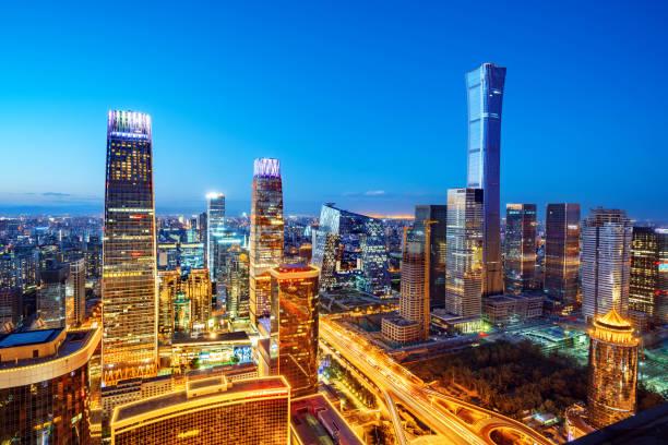 北京の空撮 - 北京 ストックフォトと画像