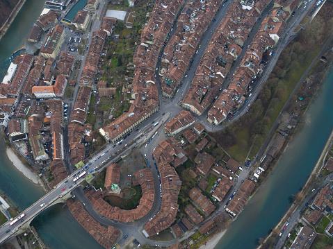 Aerial View of Bern