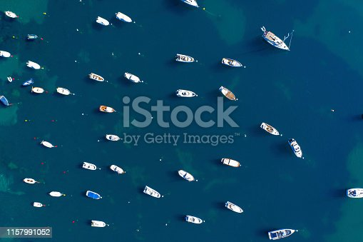 1066331604istockphoto Aerial view of boats in Costa Brava, Catalunya, Spain 1157991052