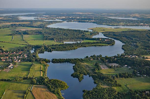 Luftaufnahme des Brandenburger, Deutschland – Foto