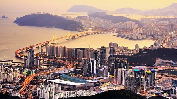 釜山,south korea - 釜山 ストックフォトと画像