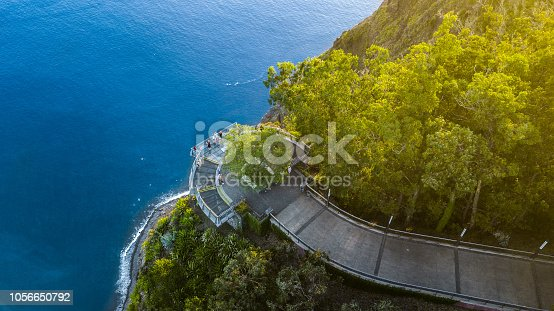 Drone photography of