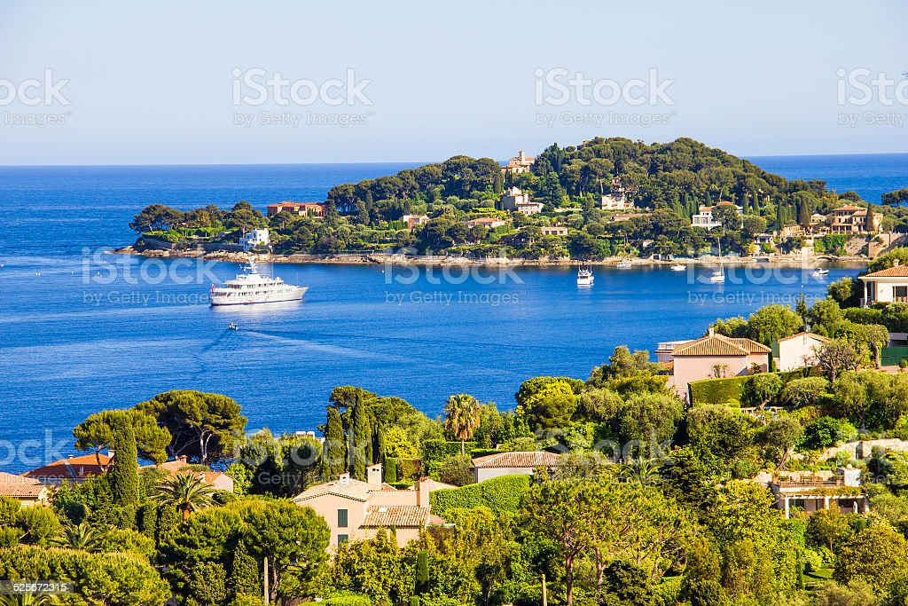 Luftbild von Cap Ferrat, Französische Riviera – Foto