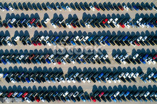 652712094 istock photo Aerial view of cars 1153517253