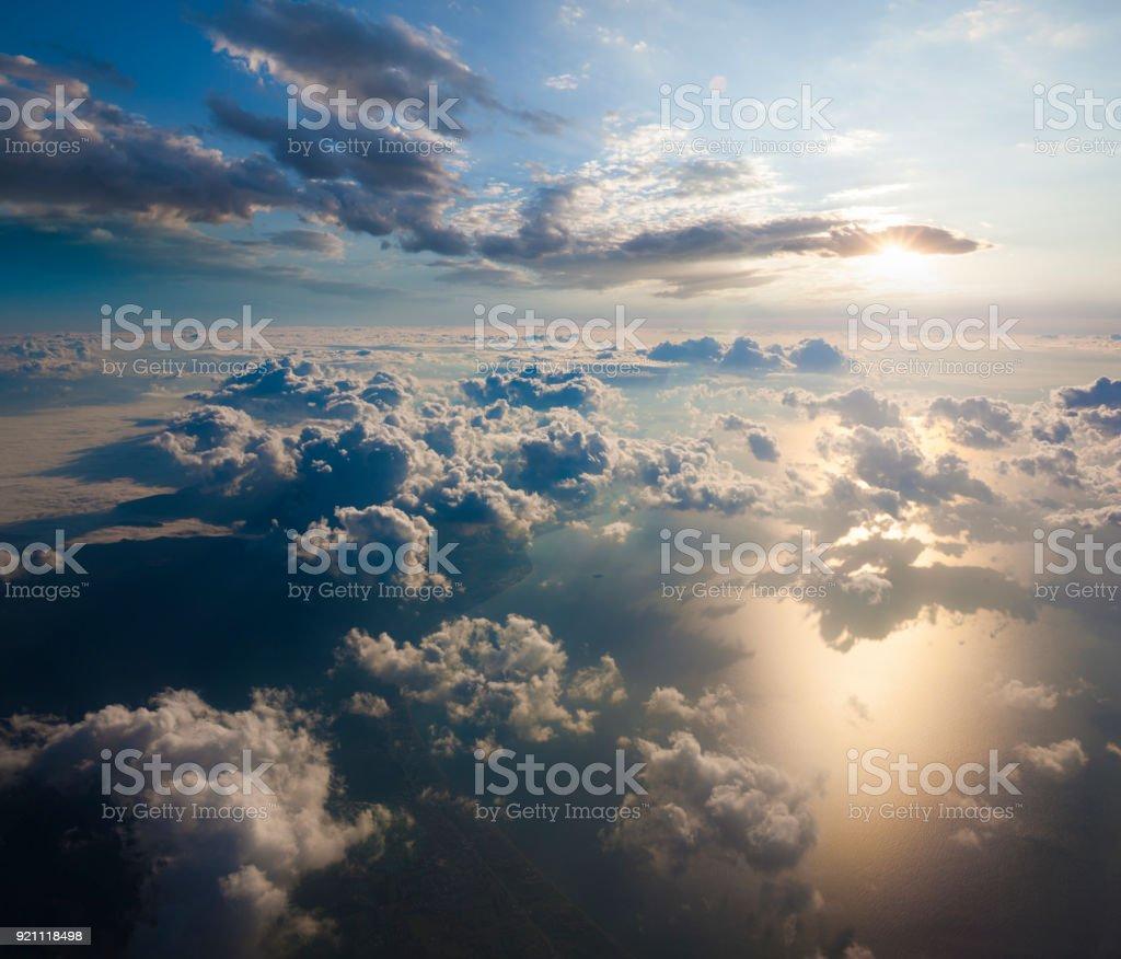 Luftbild von Wolken im Himmel – Foto