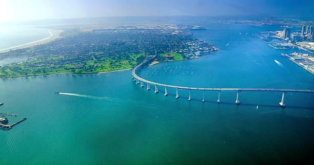 Luftbild von Coronado Island, San Diego – Foto