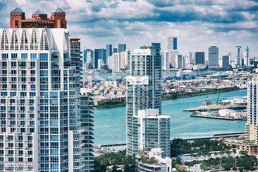 istock Aerial View of Downtown Miami Florida 693003318