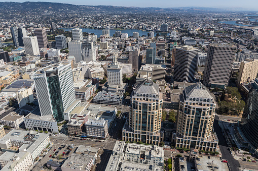 istock Aerial View of Downtown Oakland California 610746052