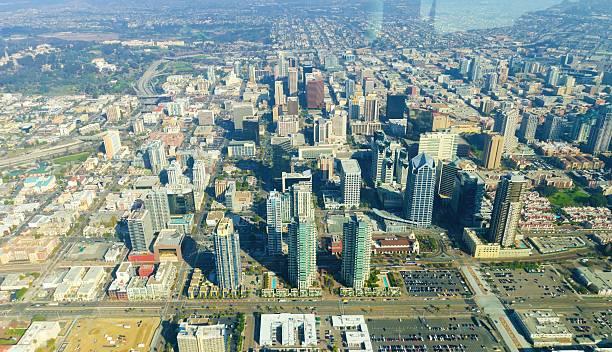 Luftaufnahme der Innenstadt von San Diego – Foto