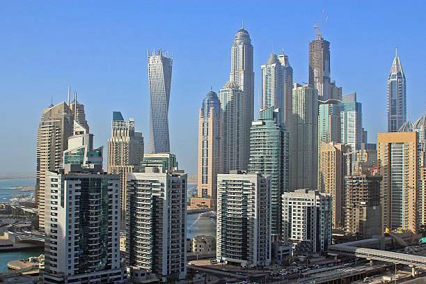 Luftbild von Dubai Marina – Foto