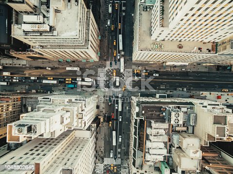 507831914 istock photo Aerial view of fifth avenue 1048802648